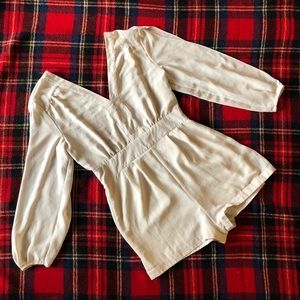 Naked Zebra Shorts - Romper